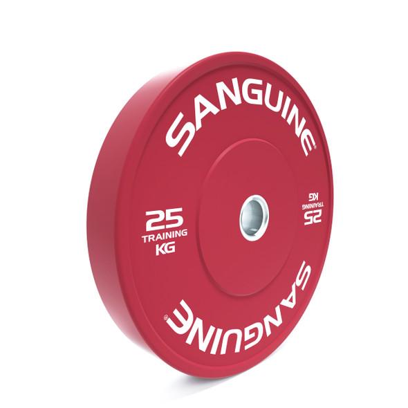 Color Training Bumper Plates-25kg