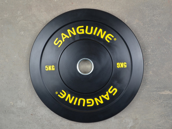 Black Training Bumper Plates-5kg