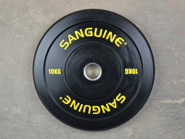 Black Training Bumper Plates-10kg