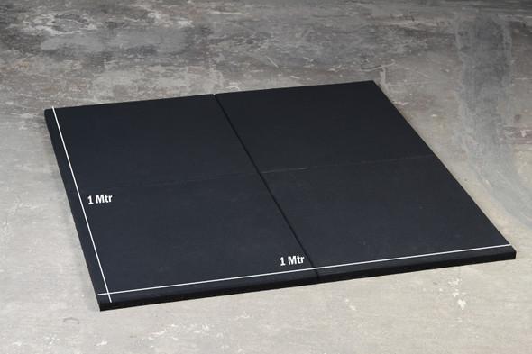 Rubber Floor Tile-500x500x25mm