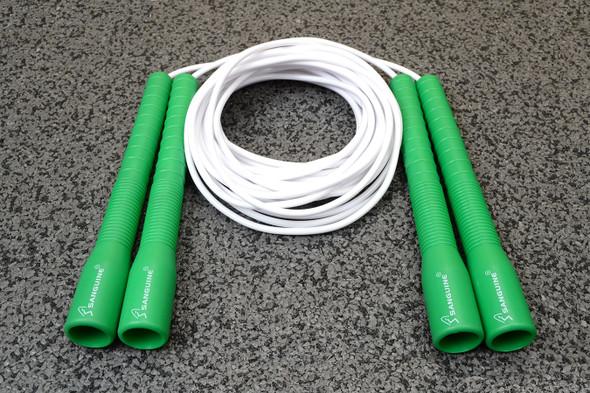 Double Dutch Long Handle PVC Jump Rope (set)