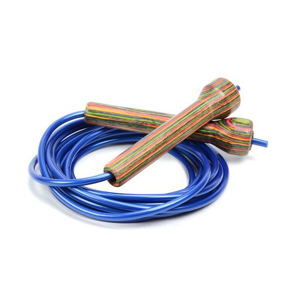 Exotic Wood Handle Speed Rope