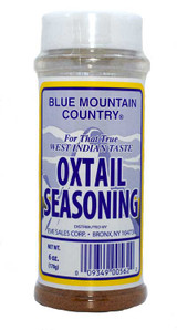 Blue Mountain Oxtail Seasoning 6oz