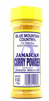 Blue Mountain Curry Powder Mild 6oz