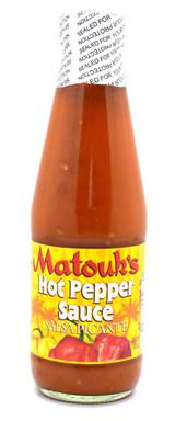 Matouks Hot Pepper Sauce 10oz