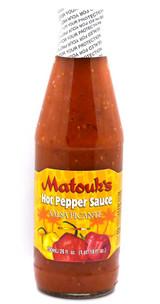 Matouk's Hot Pepper Sauce 26oz