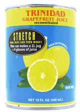 Trinidad Grapefruit Juice Sweetened 190z