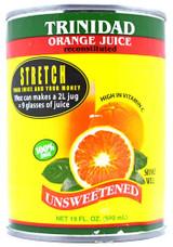 Trinidad Orange Juice Unsweetened 19oz