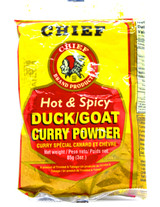 Chief Duck/ Goat Curry Powder Hot & Spicy 3oz