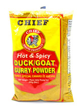 Chief Duck/ Goat Curry Powder Hot & Spicy 8oz