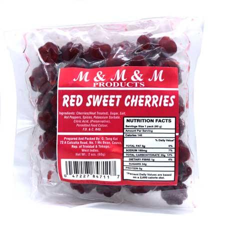 M&M&M Sweet Preserve Cherries