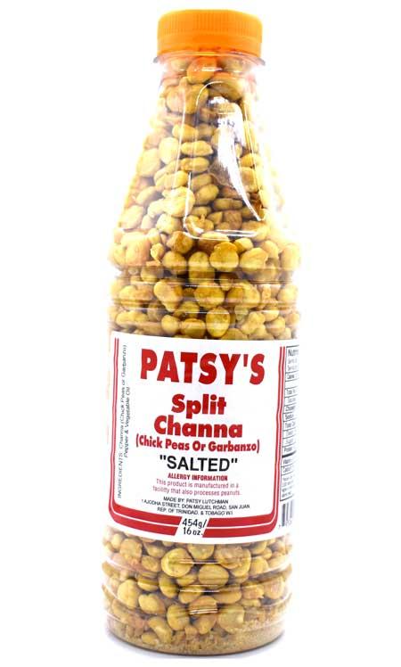 Patsy's Split Channa Salted 16oz