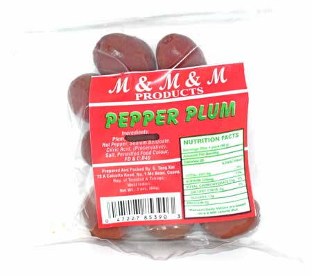 M&M&M Pepper Preserves Plum
