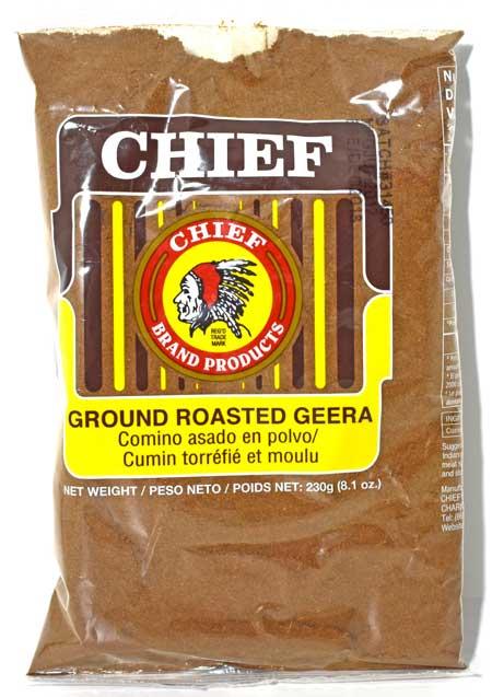 Chief Ground Roasted Geera 8oz