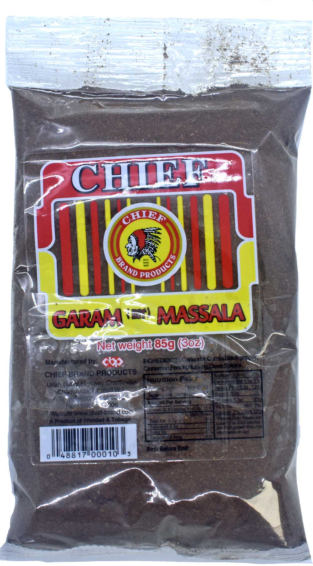 Chief Garam Massala 3oz
