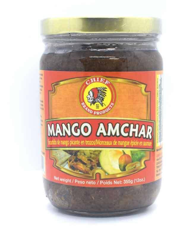 Chief Brand Mango Amchar 12oz