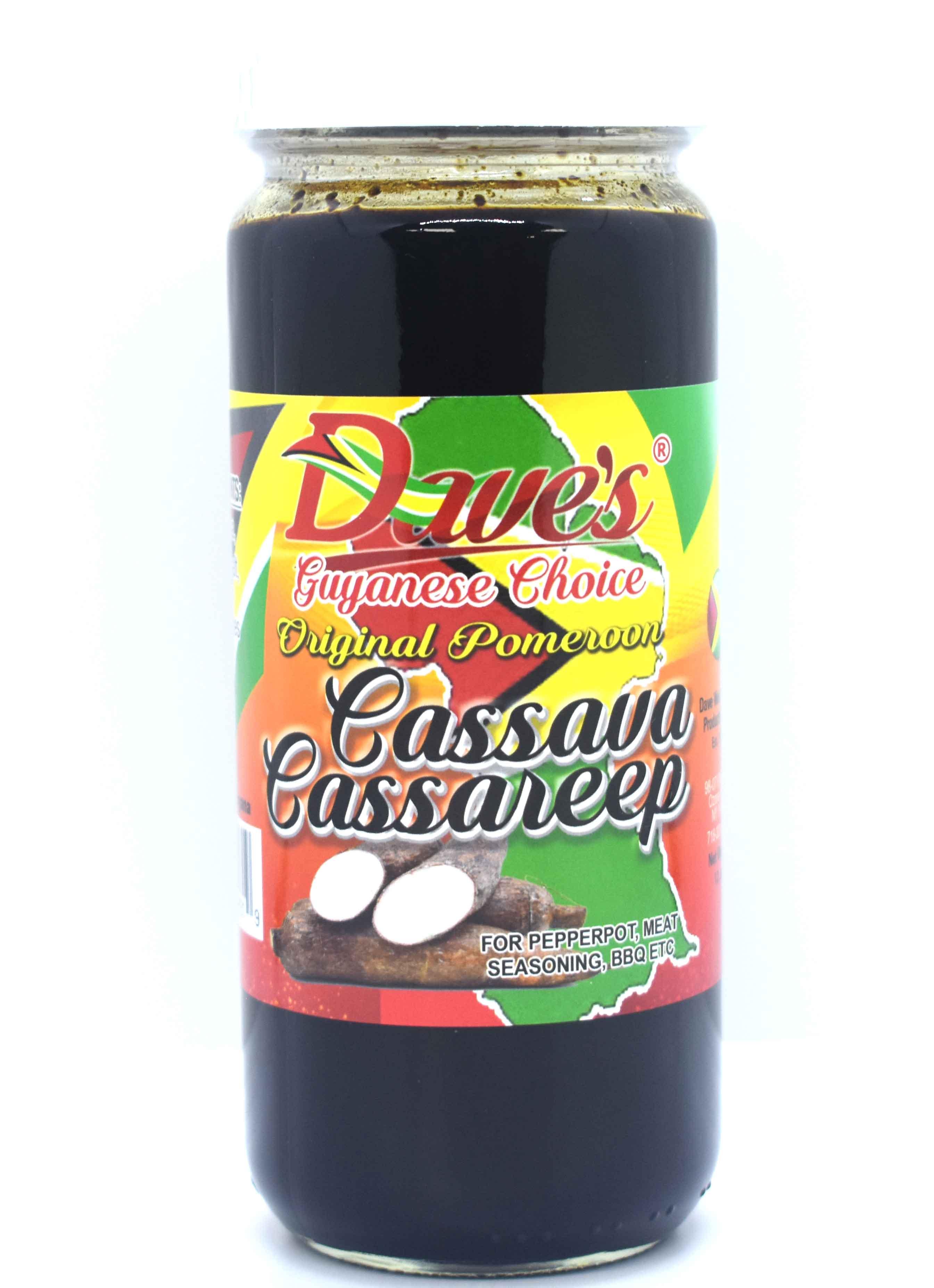 Dave's Guyanese Choice Cassava Cassareep 12oz
