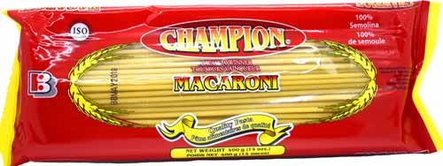 Champion Macaroni 14oz