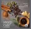 Steep Café Tea by Bigelow - Individually Wrapped Tea Bag: Flavored Tea - Organic Chai