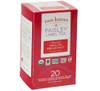 Two Leaves Tea - Box of 20 Paisley Label Tea Bags: English Breakfast