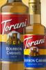 Torani Classic Flavored Syrups - 750 ml Glass Bottle: Burbon Caramel