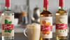 Torani Puremade Zero Sugar Flavor Syrup: 750ml Glass Bottle: Sugar Free Raspberry