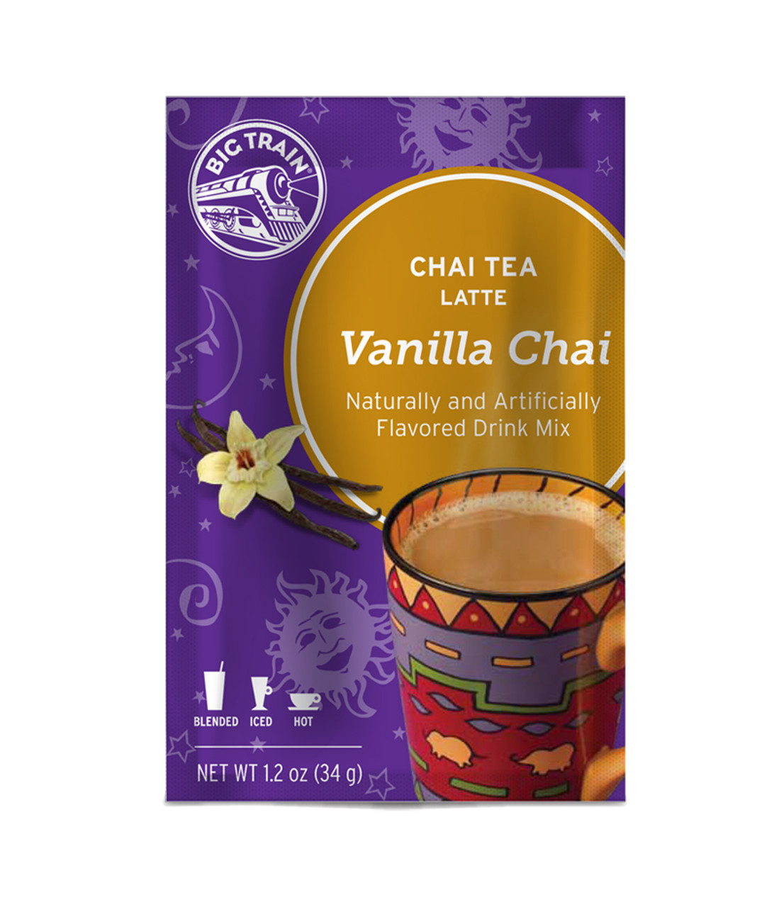 Big Train Chai Tea - Single Serve Packet: Vanilla