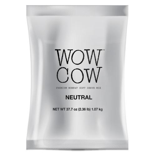 Soft Serve Base - Wow Cow: 2.3lb Bulk Bag : Neutral Base