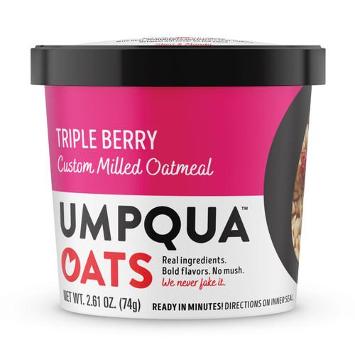 Umpqua Oats - 2.61 Oz. Cup: Triple Berry