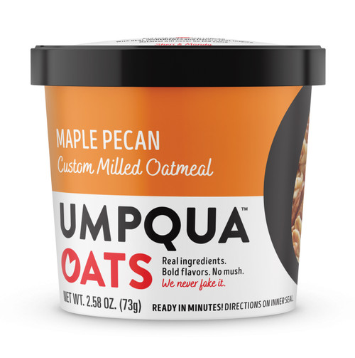 Umpqua Oats - 2.58 Oz. Cup: Maple Pecan
