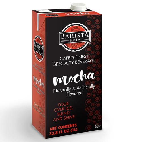 Barista Fria: 1L Shelf Stable Carton: Mocha Mix