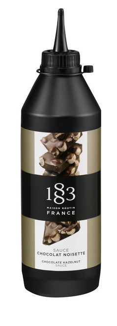 1883 Sauce: 500mL Squeeze Bottle - Chocolate Hazelnut