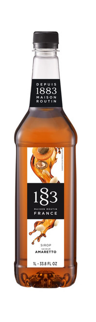 1883 Classic Flavored Syrups - 1L Plastic Bottle: Amaretto