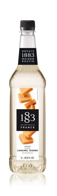 1883 Classic Flavored Syrups - 1L Plastic Bottle: Butterscotch