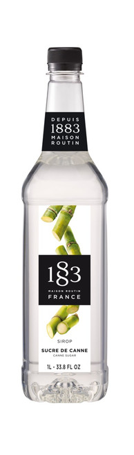 1883 Classic Flavored Syrups - 1L Plastic Bottle: Cane Sugar