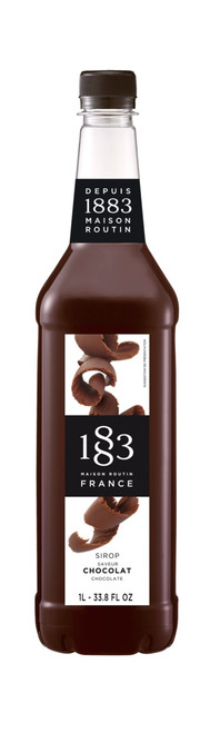 1883 Classic Flavored Syrups - 1L Plastic Bottle: Chocolate