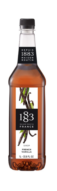 1883 Classic Flavored Syrups - 1L Plastic Bottle: French Vanilla
