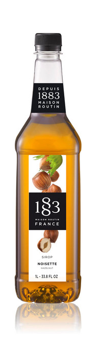 1883 Classic Flavored Syrups - 1L Plastic Bottle: Hazelnut