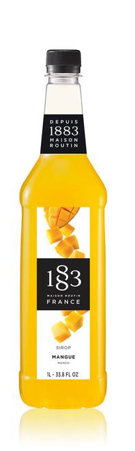 1883 Classic Flavored Syrups - 1L Plastic Bottle: Mango