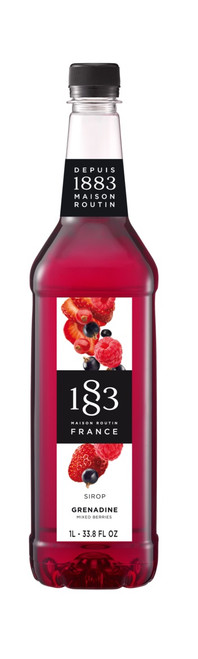 1883 Classic Flavored Syrups - 1L Plastic Bottle: Mixed Berries