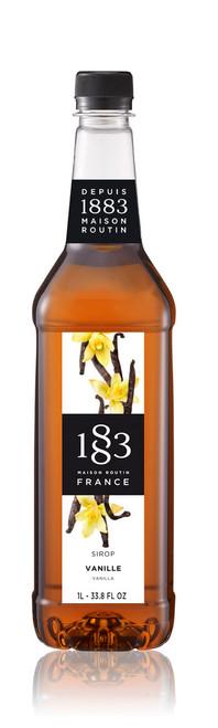 1883 Classic Flavored Syrups - 1L Plastic Bottle: Vanilla