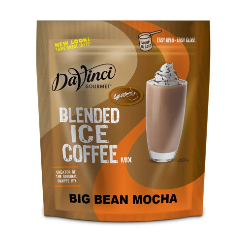 DaVinci Gourmet - Blended Ice Coffee - 3lb Bulk Bag: Big Bean Mocha