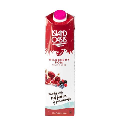 Island Oasis: 1L Shelf Stable Carton: Wildberry Pomegranate