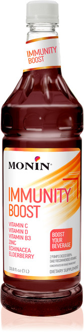Monin Beverage Boost - 1L Plastic Bottle: Immunity