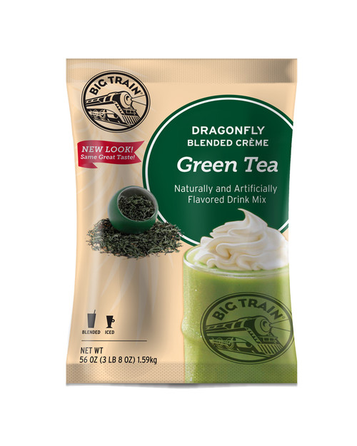 Big Train Dragonfly - 3.5 lb. Bulk Bag: Green Tea