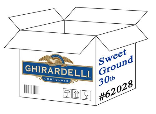 Ghirardelli Sweet Ground Chocolate Powder - 30 lb. Box