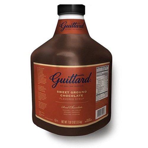 Guittard Sauce - 90oz Jug: Sweet Ground Chocolate
