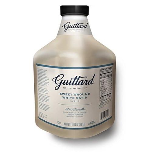 Guittard Sauce - 90oz Jug: White Chocolate