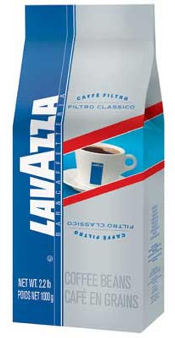 Lavazza Filtro Classico Regular - 2.2 lb. Whole Bean Coffee Bag