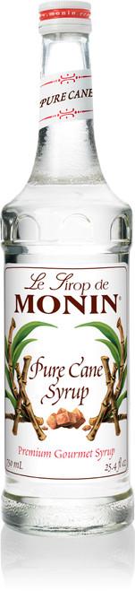 Monin Pure Cane Sugar Sweetener - 750 ml. Glass Bottle
